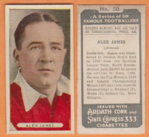 Arsenal Alex James Scotland